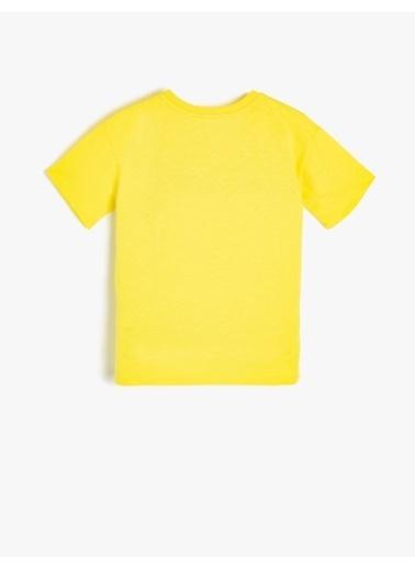 Koton Kids Tişört Sarı
